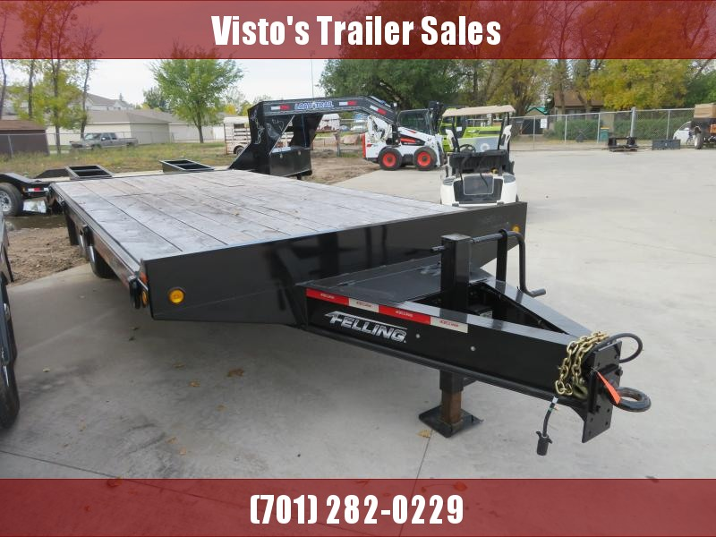2018 Felling 102''X23' Deckover Trailer FT-12-2