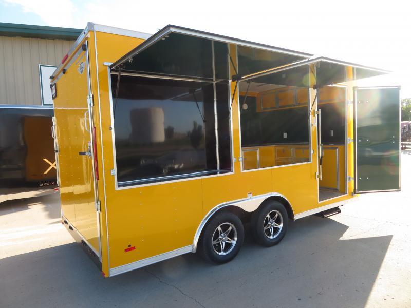 2020 MTI 8.5'X16' Enclosed Trailer MTB85167K