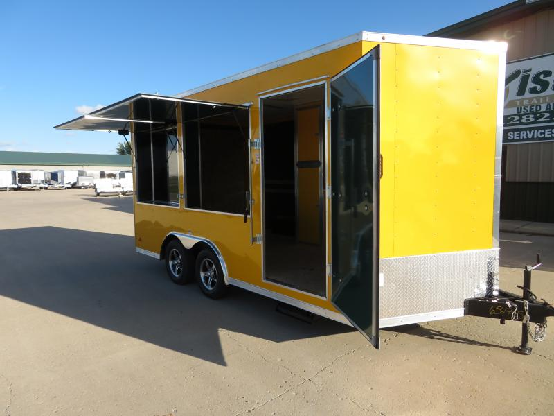2020 MTI 8.5'X16' Enclosed Trailer MTB85167K