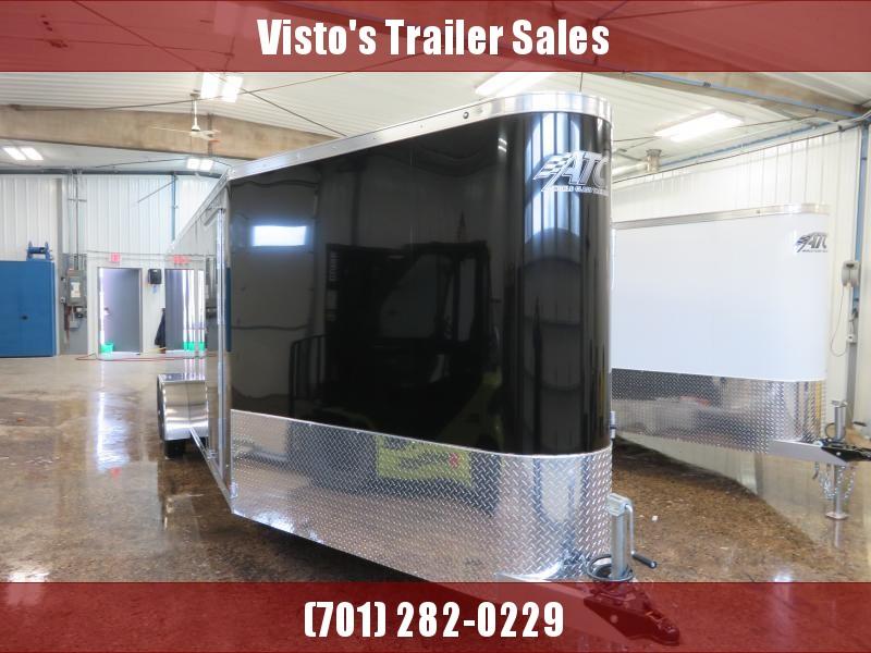 2020 ATC 7'X22'+6' Enclosed Snowmobile Trailer RAVAB722+67K