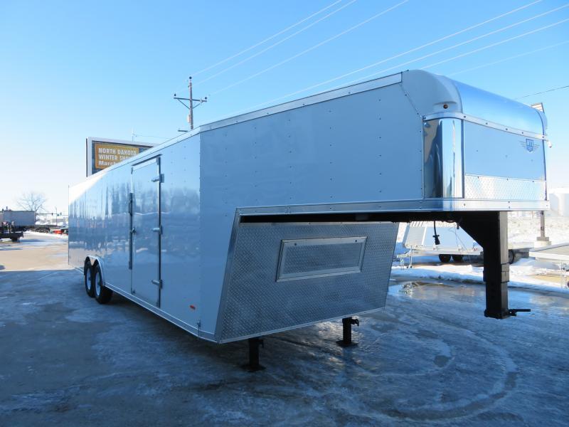 2020 MTI 8.5'X36' Gooseneck Enclosed Trailer MRTGN853614K