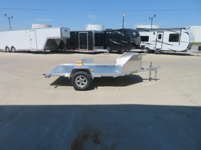 2021 Aluma 2-Place Motorcycle Trailer MC210