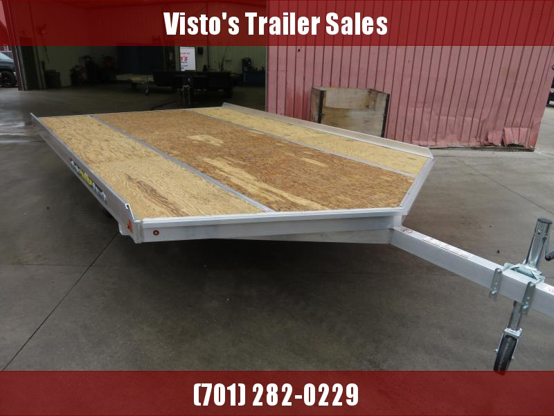 "2020 Aluma 8'6""X12' Snowmobile Trailer 8612D"