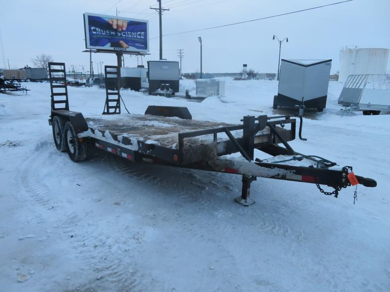 2013 Pj Trailers 83X20 Equipment Trailer 83X20 Equipment Trailer