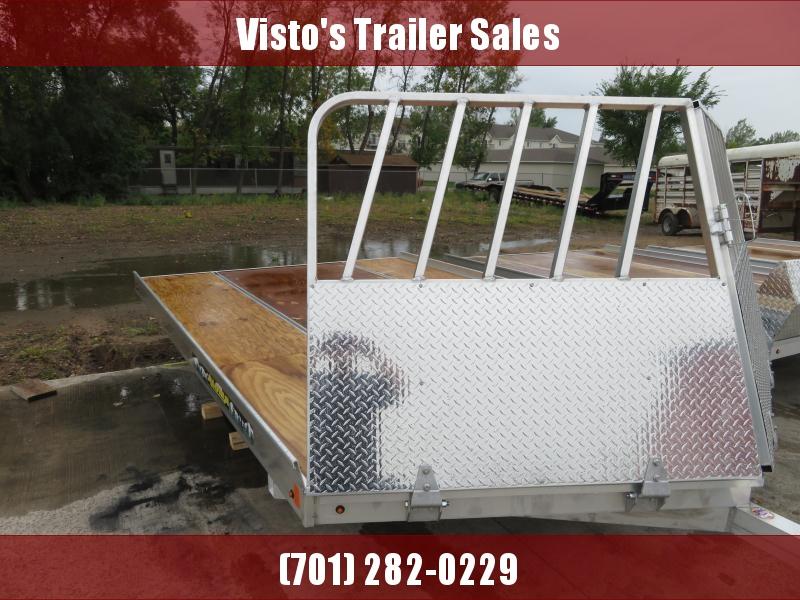 "2020 Aluma 8'6""X12' Snowmobile Trailer 8612D"