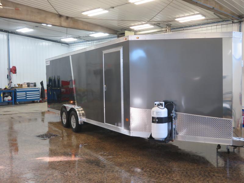 2019 Haulmark 7'X22'+6' Enclosed Snowmobile Trailer HAS722+67K