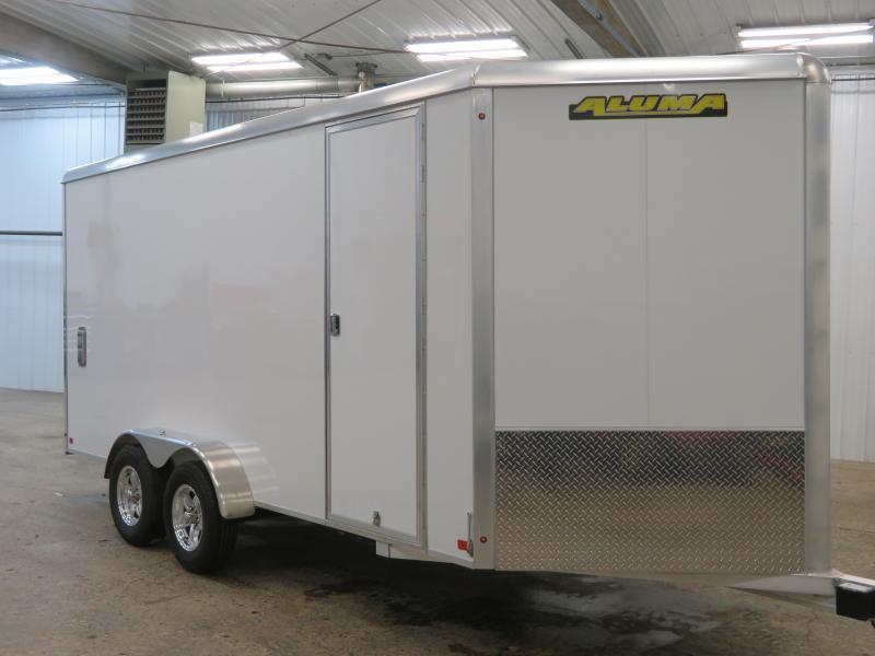 2020 Aluma 7'X16' Enclosed Trailer AE7167K