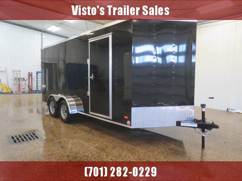 2020 Bravo 7'X16' Enclosed Trailer HR7167K