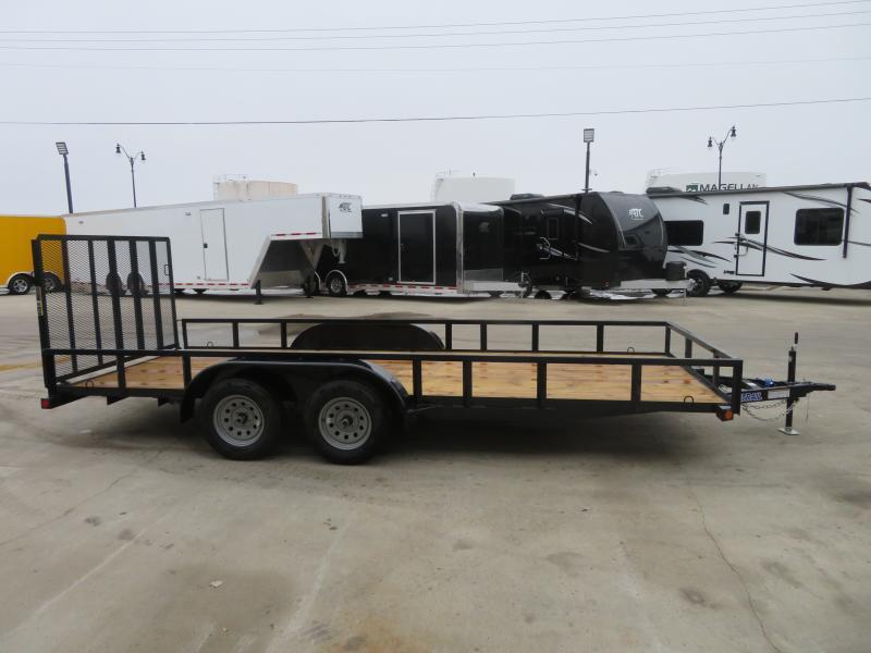 2020 Load Trail 83''X18' Utility Trailer UE83187K