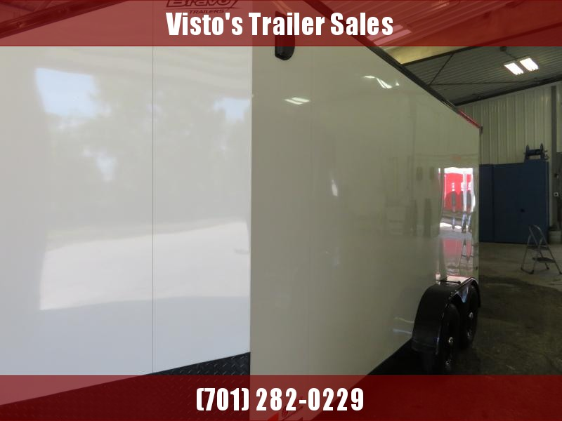 2020 Bravo 7'X16' Enclosed Trailer SC7167K