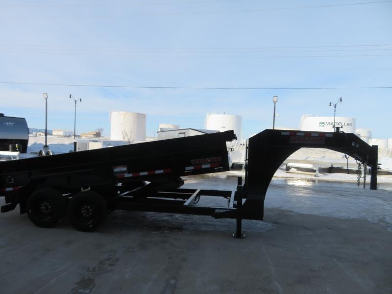 2020 Midsota 82''X16' Gooseneck Dump Trailer HV821616K