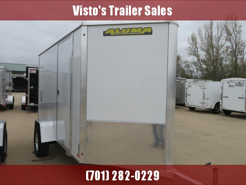 2020 Aluma 6'X10' Enclosed Trailer AE610