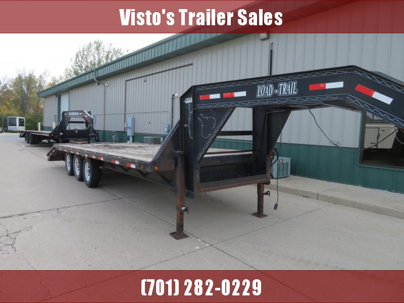 "2003 Load Trail 102""X28' Gooseneck Trailer GH022821K"
