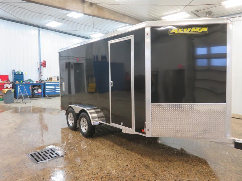 2021 Aluma 7'X14' Enclosed Trailer AE7147K