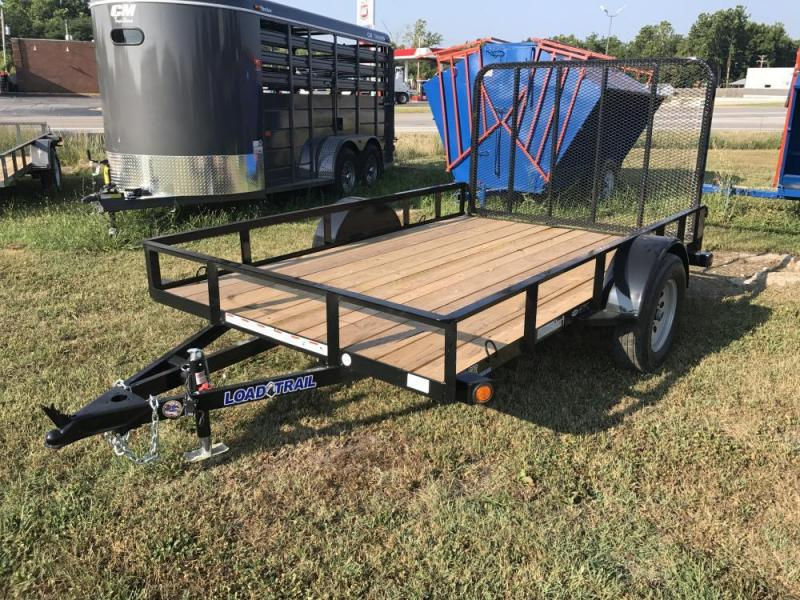 "2017 Load Trail 77"" x 10' Single Axle Utility Trailer"