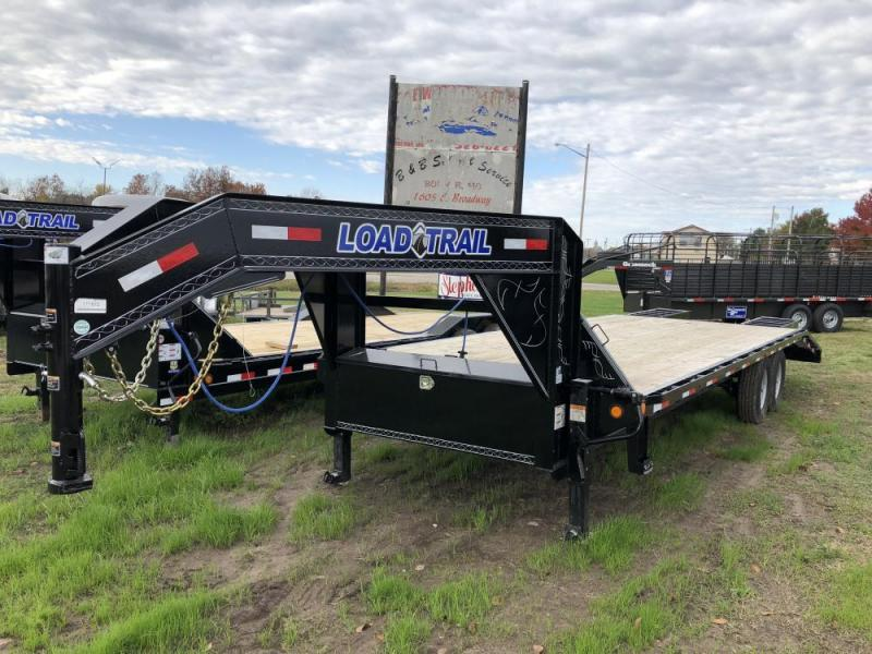 "2018 Load Trail 102"" x 26' Flatbed Equipment Trailer"