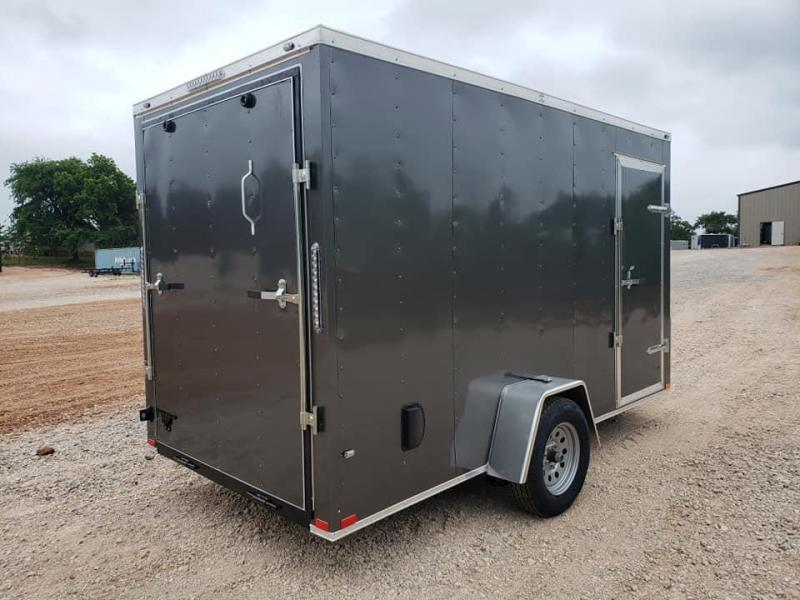 2020 Family Trailer 6x12 Single Axle Enclosed Cargo Trailer