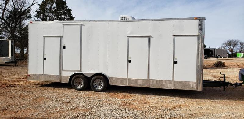 2019 Deep South 8.5x20 Tandem Axle Enclosed Cago Enclosed Cargo Trailer