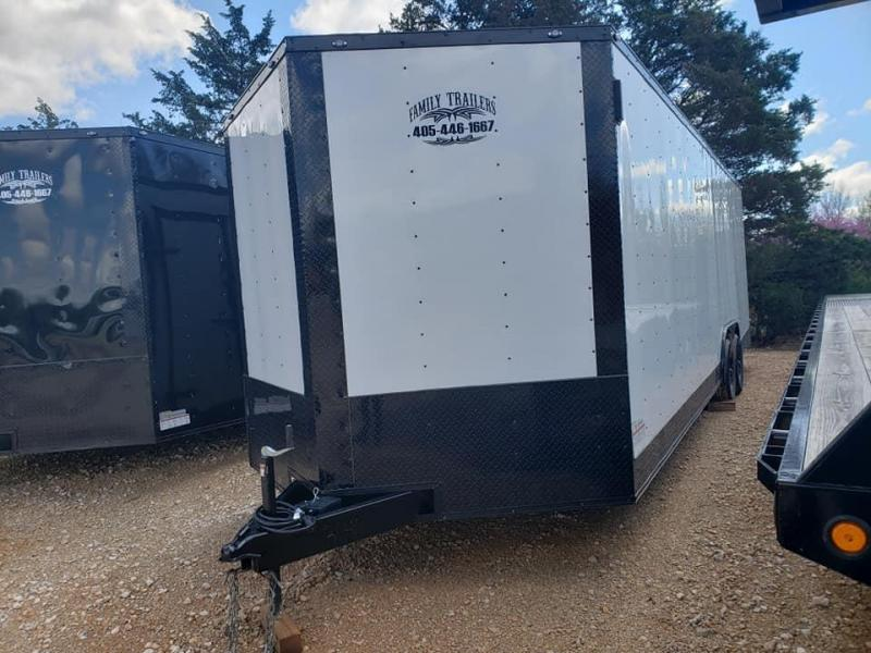 "2020 Deep South 8.5x26 Tandem Axle Enclosed Cago Enclosed Cargo Trailer - 84"" in height! - 1 Year Warranty"