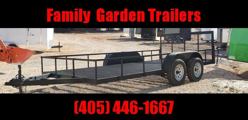 2020 Deep South 7x16 Open Bed Trailer Utility Trailer