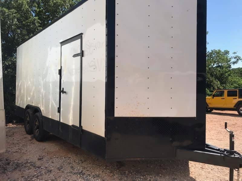 2020 Deep South 8.5x28 Tandem Axle Enclosed Cargo Trailer Enclosed Cargo Trailer