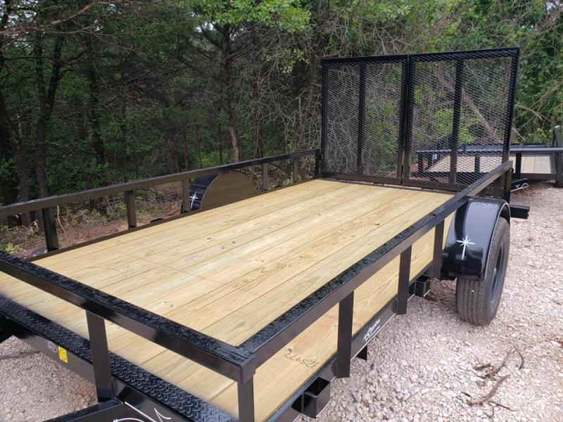 "2020 Starlite Trailers 77"" x 12' Open Bed Utility Trailer"