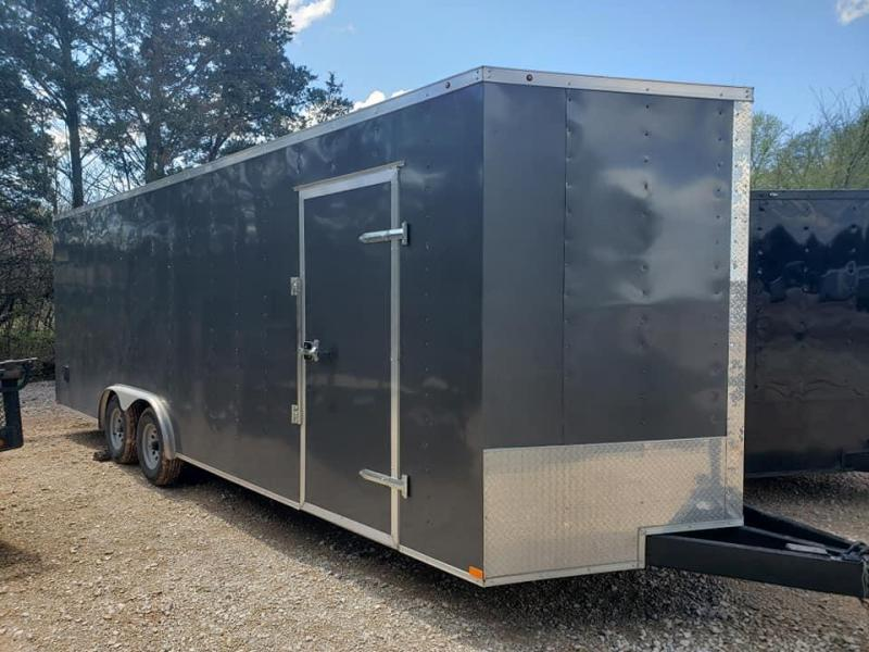 2020 Family Trailer 8.5x24 Tandem Axle Enclosed Cago Enclosed Cargo Trailer