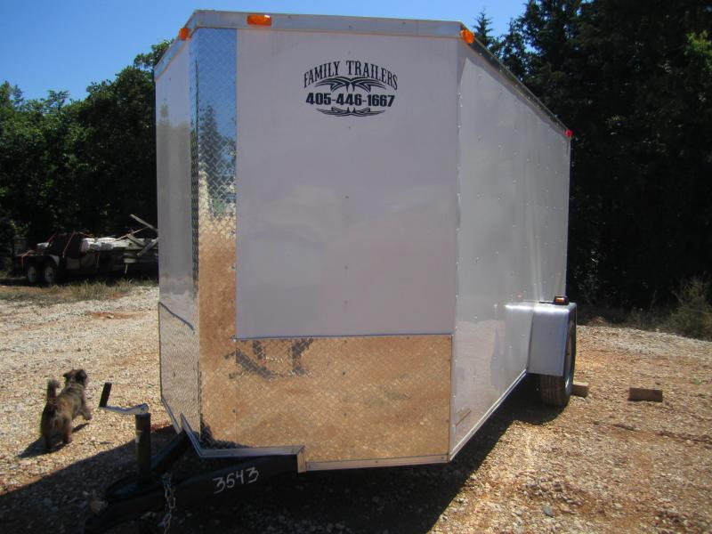 2020 Deep South 6x12 Single Axle Enclosed Cargo Trailer