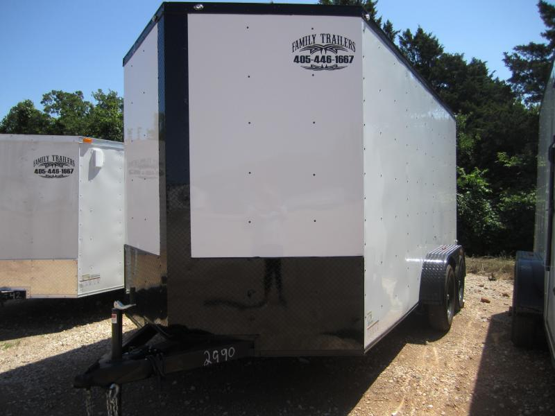 2020 Deep South 7x14 Tandem Axle Enclosed  Cargo Trailer