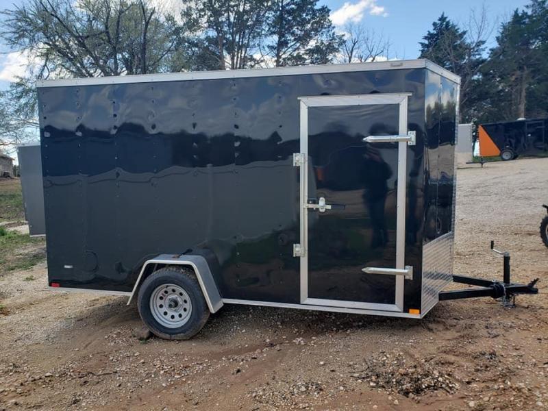 2020 Family Trailer 6x12 Single Axle Enclosed Cargo Trailer