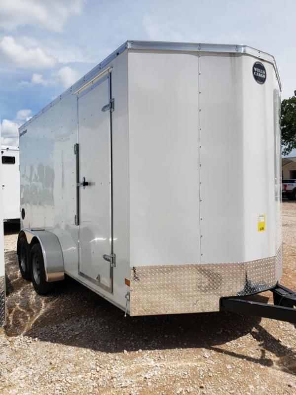 2020 Wells Cargo 7x14 Tandem Axle Enclosed Cargo Trailer - FAST TRAC