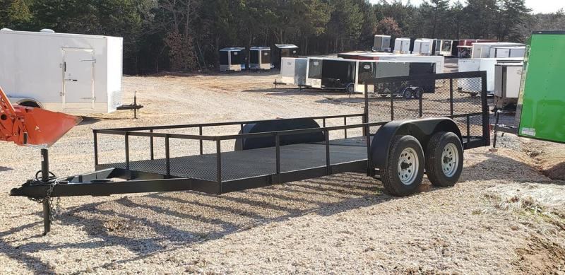 2020 Deep South 7x16 Open Bed Trailer Utility Trailer  MAKE OFFER!!!!!!!!!!!!!!!!!!!!!!!!!!!!!!