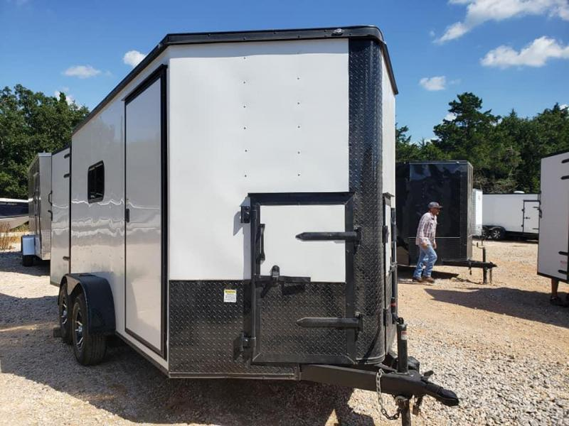 2019 Deep South 7x12 Tandem Axle Enclosed Cargo Dog Houses Enclosed Cargo Trailer - Oil Field