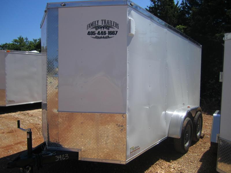 2020 Deep South 6x12 Tandem Axle Enclosed Cargo Trailer
