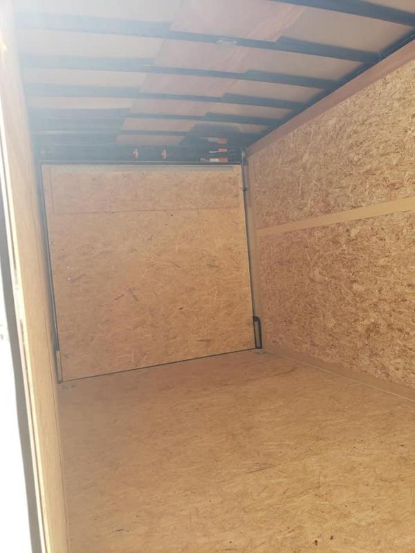 2020 Wells Cargo 7x16 Tandem Axle Enclosed Cargo Trailer