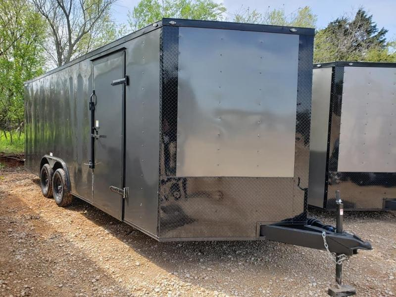 "2020 Deep South 8.5x20 Tandem Axle Enclosed Cago Enclosed Cargo Trailer - 84"" in height! - 1 Year Warranty"
