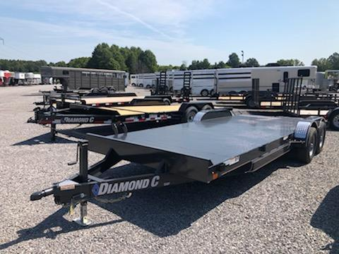 2019 Diamond C Trailers GSF 252-22x82 Equipment Trailer