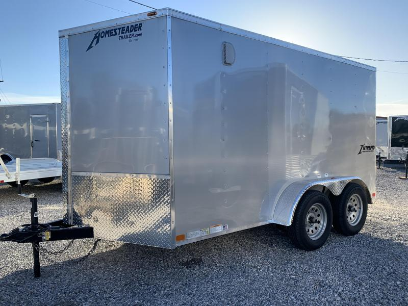 2019 Homesteader 712 IT Enclosed Cargo Trailer