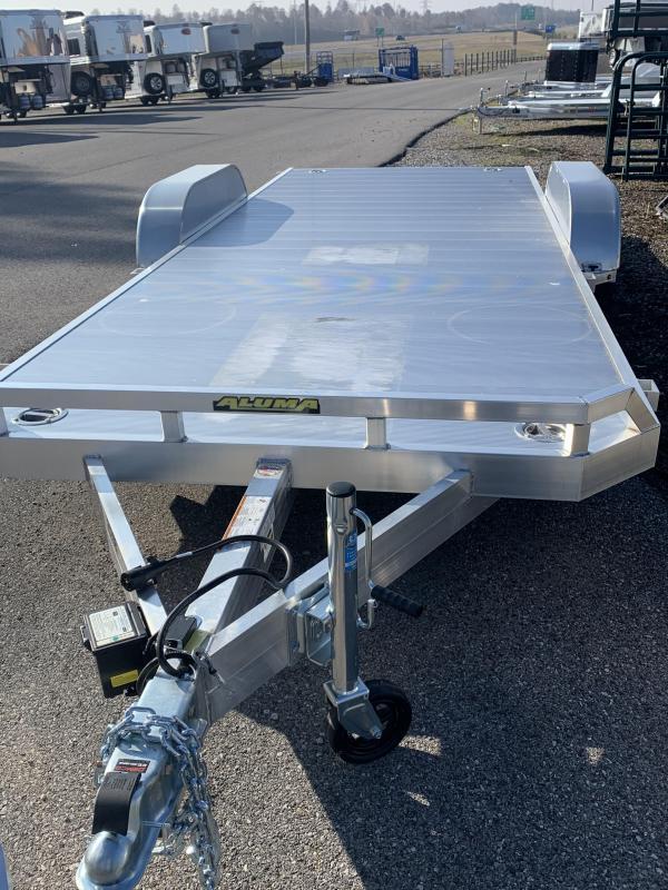 2020 Aluma 8218 TA-EL-R-RTD Utility Trailer