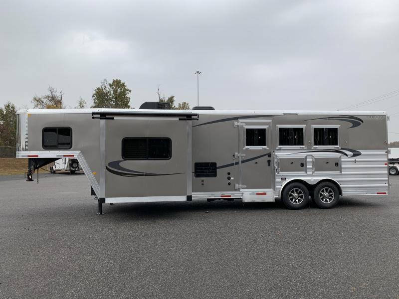 2020 Merhow Trailers 8311 RW-RS Horse Trailer