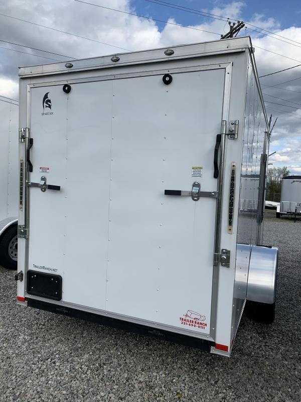 2019 Spartan Cargo 6x12 Enclosed Cargo Trailer