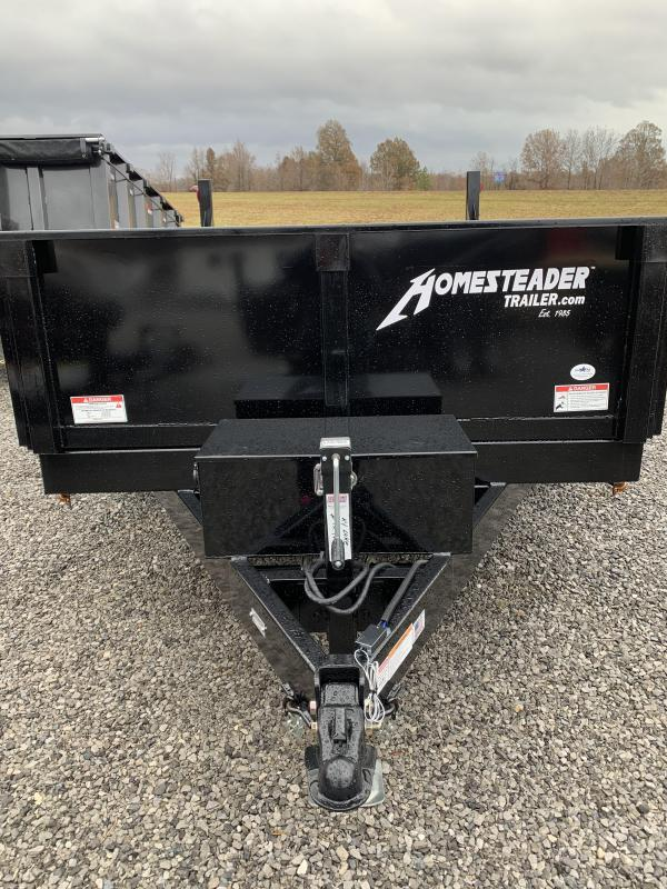 2020 Homesteader 712 HX Dump Trailer
