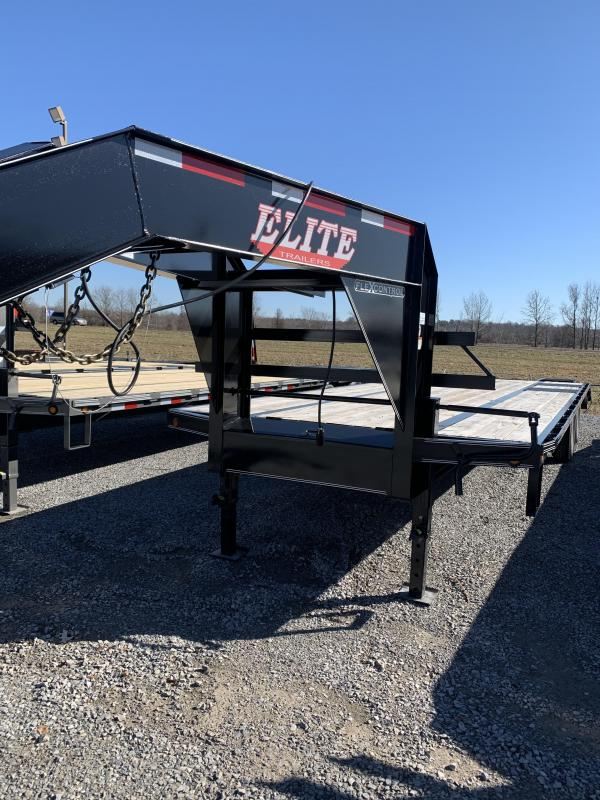 2019 Elite Trailers GN DOVETAIL-28 Farm / Ranch