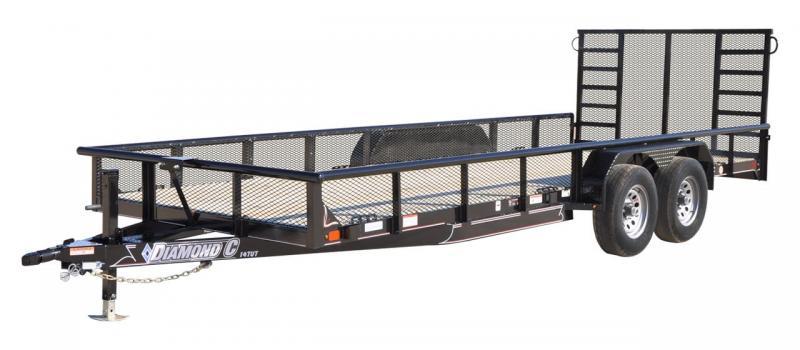 2020 Diamond C Trailers TUT252 20x82 Utility Trailer