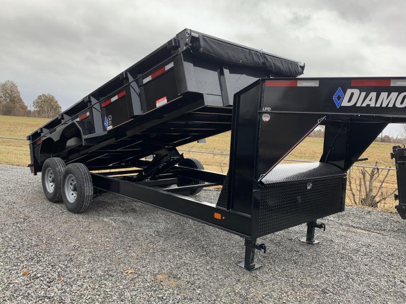 2019 Diamond C Trailers LPD GN 16x82 Dump Trailer
