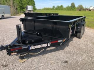 2020 Diamond C LPD207 14x82 Dump Trailer