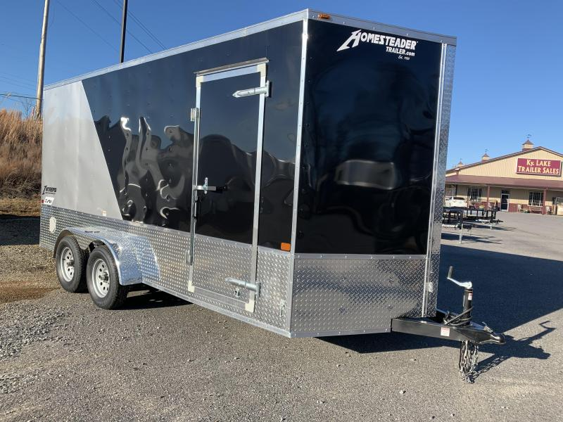 2020 Homesteader 716 IT OHV Enclosed Cargo Trailer