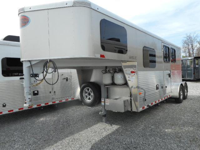 2018 Sundowner Santa Fe Super Sport 2H GN Horse Trailer
