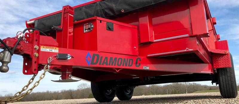 2020 Diamond C  EDM252 12x82 Dump Trailer