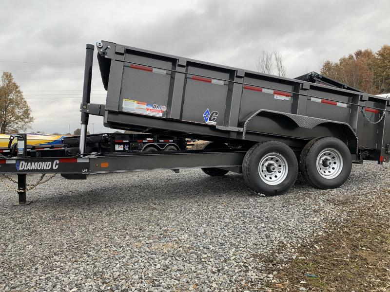 2019 Diamond C Low Pro LPT 14x82 Dump Trailer